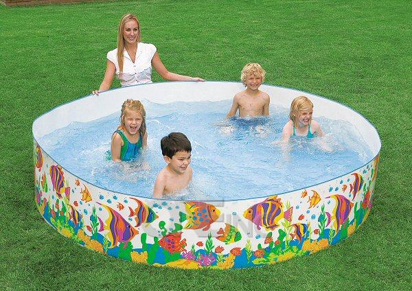 Sun fish snapset kiddie pool for Koi pond kiddie pool