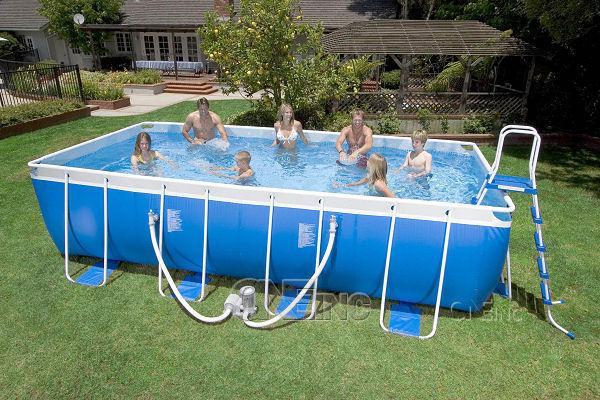 18 39 x 9 39 x 52 frame set pool package - Intex easy set pool 18 x 52 ...