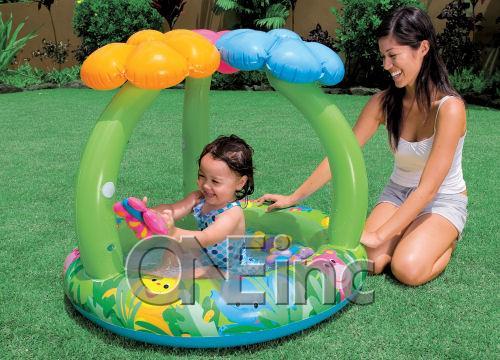 Jungle Flower Baby Pool | Inflatable Kiddie Pools ...
