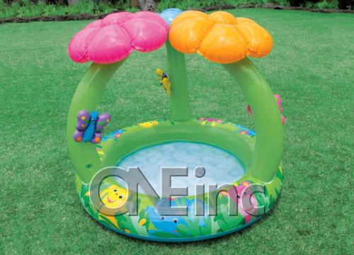Intex Recreation Jungle Flower Baby Pool Age 1-3 Soft Gift ...