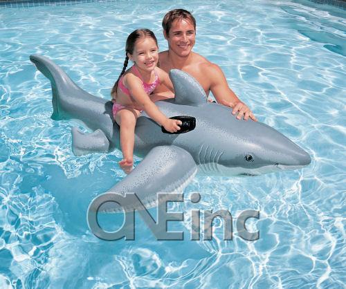 Lil Shark Ride On Pool Float