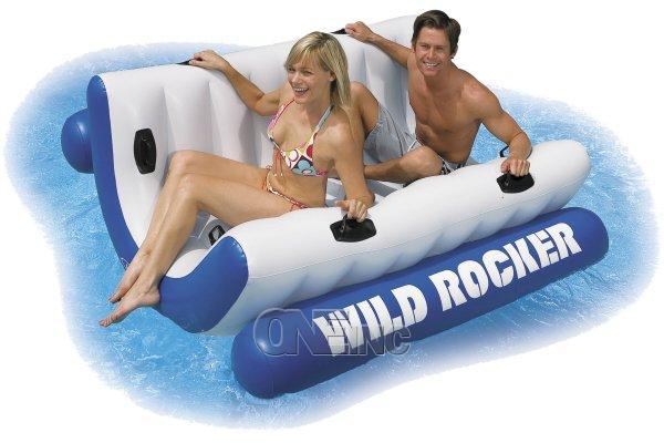 Wild Rocker Pool Float