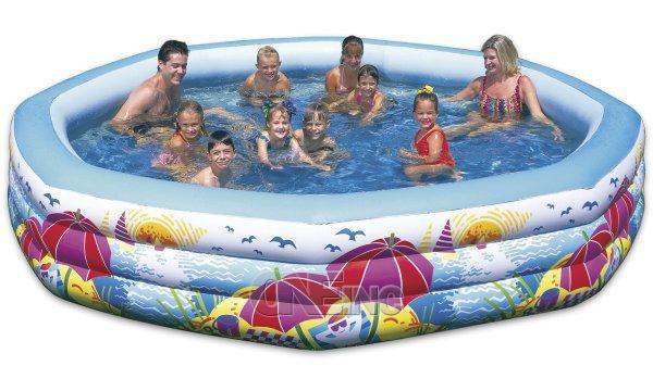 Neighborhood swim center kids pool for Kids inflatable swimming pools