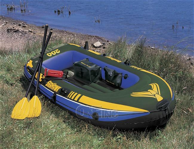 Seahawk 200 Intex Lake Boat Set