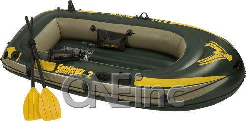 Seahawk 200 Intex Lake Boat Set