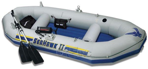 Intex Seahawk Ii Inflatable Boat Set