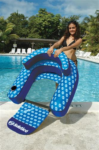 Nylon Convertible Lounge Pool Float