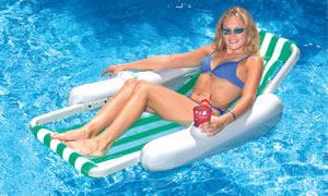Sunchaser Sling Lounge Pool Float