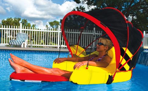Cabriolet Pool Float Lounge