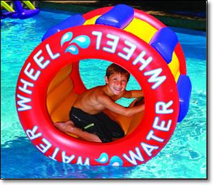 Inflatable Water Wheel Pool Float