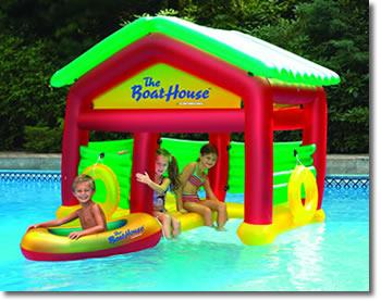 Boathouse Floating Habitat Pool Float