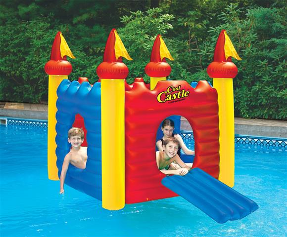 Cool Castle Floating Habitat Amp Kids Pool
