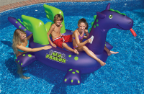 Sea Dragon™ Giant Ride-On Pool Float