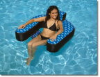 Fabric Covered Suspending Chair Pool Float