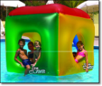 The Cube - Inflatable Pool Float