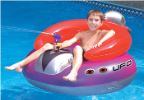 UFO Spaceship Pool Float w/ Squirt Gun