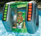 Starfighter Super Squirter Pool Float