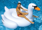 Giant Swan Ride-On Pool Float