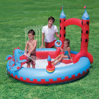 Interactive Castle Inflatable Kids Play Pool