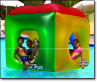 The Cube - Inflatable Pool Float (SKU: BW-NT250)