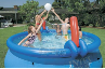 Volleyball and Basketball Set for 10' or 12' Easy Set Pools (SKU: 58505E)